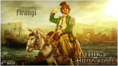 Thugs of Hindostan: Forget Jack Sparrow Inspiration, This Feature in Aamir Khan's Look Is Making Us Worried For His Firangi - Here's Why