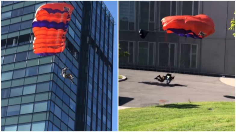Texas Man Crushes Both Legs While Base Jumping From 19-Floor-Building in Norway (Video)