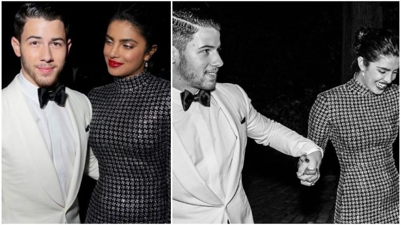 Priyanka Chopra and Nick Jonas' fans go berserk as the couple arrives for Ralph Lauren's fashion show in NYC - Watch Video