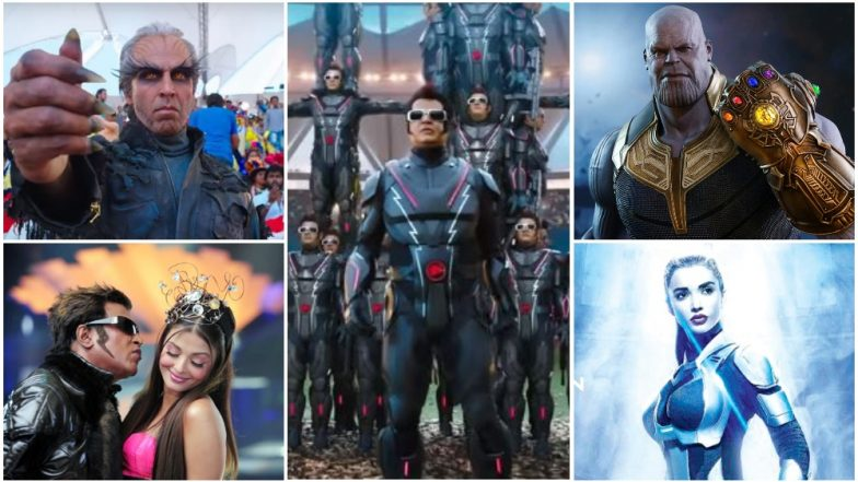 2.0 Teaser: Aishwarya Rai, The 'Thanos Connection' - 5 Theories About the Plot We Can Make Out From The First Glimpse of Rajinikanth, Amy Jackson and Akshay Kumar's Film