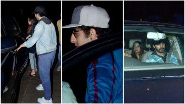 Varun Dhawan Enjoys a Dinner Date With Girlfriend Natasha Dalal but Hey Was That Ranbir Kapoor With Them?