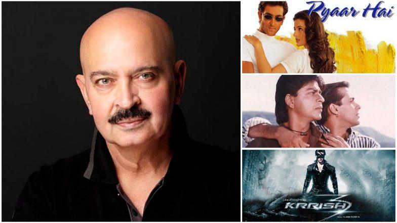 Rakesh Roshan Birthday Special: From Govinda's Khudgarz to Hrithik Roshan's Krrish 3, Ranking All The Films Helmed By Roshan Sr From Worst to the Best