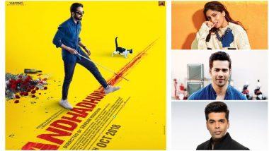 AndhaDhun: Karan Johar, Bhumi Pednekar, Varun Dhawan Are Loving The Trailer of Ayushmann Khurrana, Tabu and Radhika Apte's Thriller