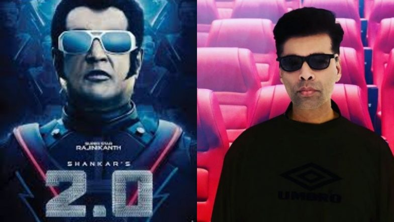 2.0 Teaser: Karan Johar Has Watched a Glimpse of the Rajinikanth-Akshay Kumar Starrer and so You Can You – Here's How!