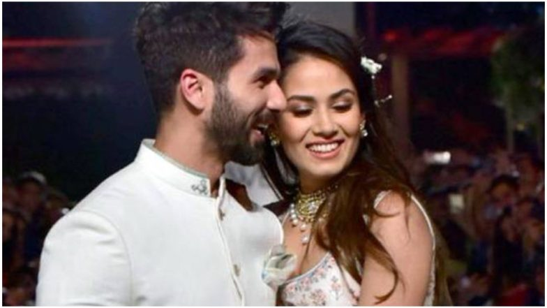 Shahid Kapoor's Birthday Message for Wife Mira Rajput Will Make You Go Aww – See Pic