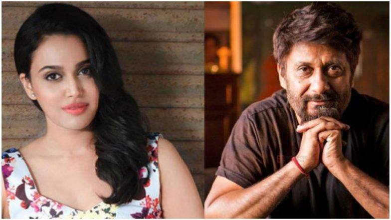 Vivek Agnihotri Accuses Swara Bhasker of Curbing His FoE After His Insensitive Tweet Gets Deleted; Twitterati Schools Him on Real FoE!