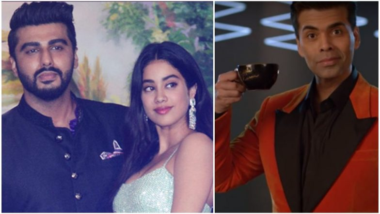 1d95b85f274 Koffee With Karan 6  Arjun Kapoor-Jhanvi Kapoor To Be The First Guests on