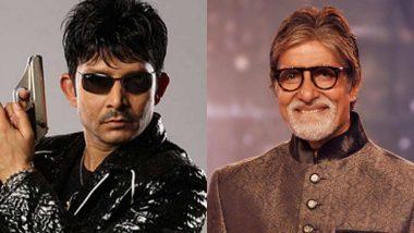 Amitabh Bachchan Welcomes Kamaal R Khan Back on Twitter, Asks Fans to Fasten Seat Belts!