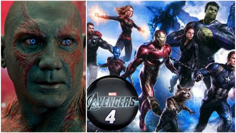 Avengers 4: Dave Bautista Drops a HUGE Spoiler About Guardians of the Galaxy; Wonder What Disney Has to Say About This!