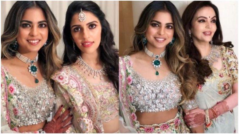 Isha Ambani, Shloka Mehta and Nita Ambani Are Gearing Up for a Post-Engagement Bash and These EXCLUSIVE Videos Are a Proof of It