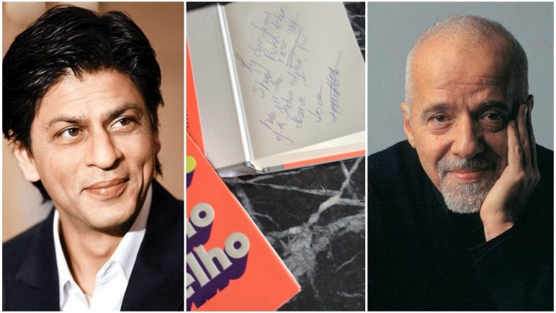 Shah Rukh Khan Gets The First Signed Copy of Paulo Coelho's Hippie and We Are Truly Jealous!