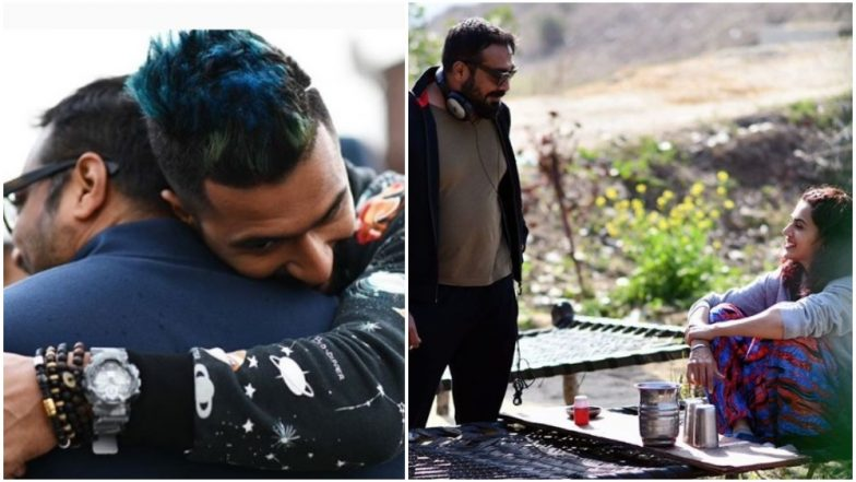 Happy Birthday Anurag Kashyap: Manmarziyaan Actors Vicky Kaushal, Taapsee Pannu Wish Their Favourite Director With Cute Posts