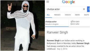 Ranveer Singh's Name Comes Up When You Search 'Chutiya Actor' On Google and You Can Blame IMDB For That!