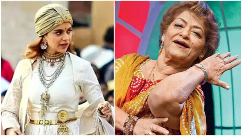 Kangana Ranaut and Saroj Khan Unite for Classical Number for Manikarnika: The Queen of Jhansi?