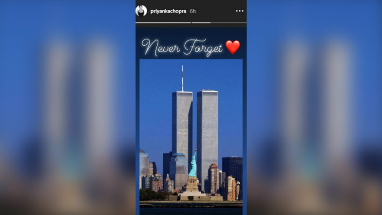 Priyanka Chopra, Amy Jackson, John Krasinski Remember 9/11 on 17th Anniversary