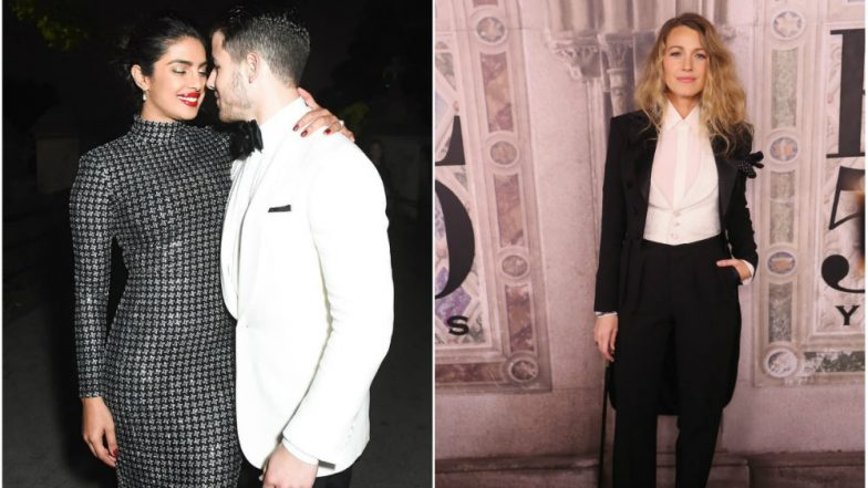As Priyanka Chopra Chats With 'Gossip Girl' Blake Lively, Nick Jonas Waits Patiently for Her (Watch Video)