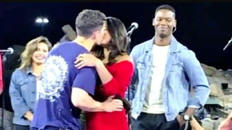 Priyanka Chopra's Birthday Kiss to Nick Jonas Is All Cute and Adorable – Watch Video