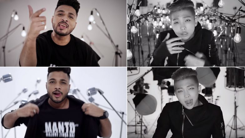Manto Song Mantoiyat: Raftaar Slammed by Korean Band BTS Fans For 'Plagiarism'; Rapper Responds Saying NOT His Fault! Watch Videos