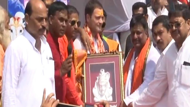 Kanwariyas Welcome 'Shiv Bhakt' Rahul Gandhi in Amethi; Watch Video