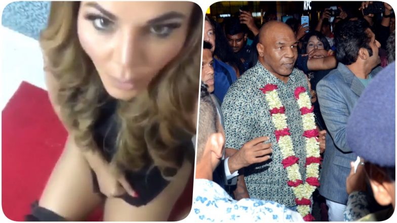 Rakhi Sawant Wants to Marry Mike Tyson and Help Him Do the Potty (Watch Video)
