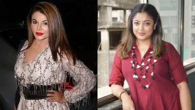 Rakhi Sawant Calls Tanushree Dutta a Liar; Alleges She Was High on Drugs at the Time of the Incident in 2008
