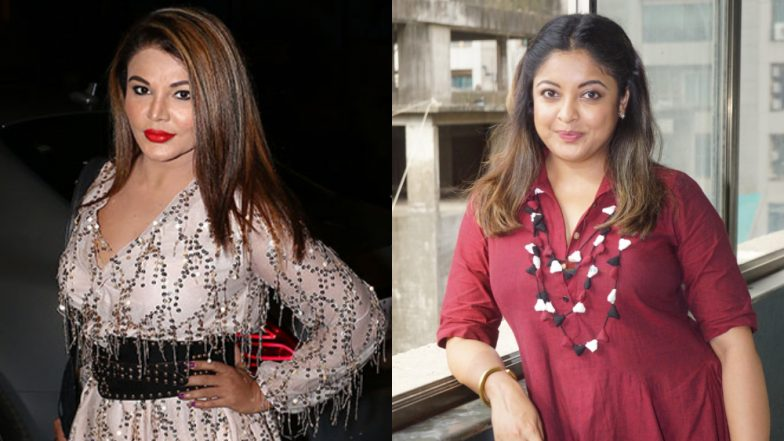 #MeToo in Bollywood: Rakhi Sawant to Issue Rs 50 Crore Defamation Case Against Tanushree Dutta For Calling Her 'Lower Class Girl'