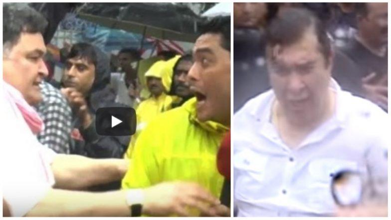 Ganeshotsav at RK Studios: When Rishi Kapoor and Randhir Kapoor Slapped Journalists (Watch Video)