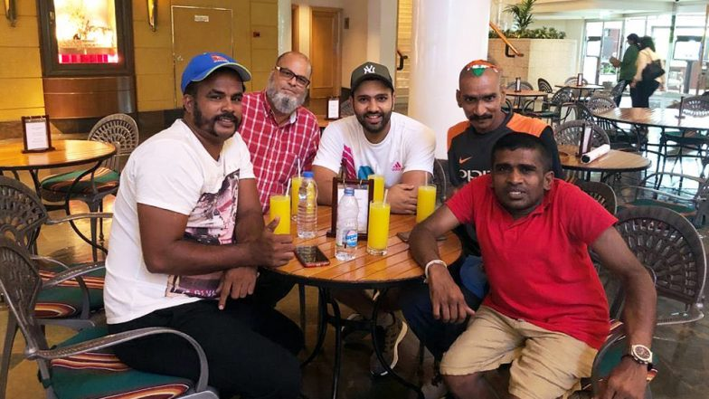 Asia Cup 2018 Diaries: Rohit Sharma Hangs Out With Indian, Pakistani & Sri Lankan Fans Ahead of the Finals With Bangladesh