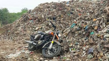Second Royal Enfield Pegasus 500 Bites the Dust in the Garbage Dump