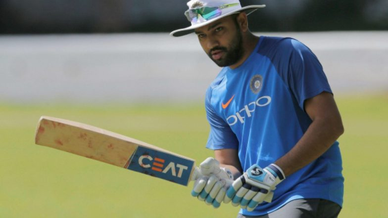 Rohit Sharma Plays Gully Cricket in Mumbai Ahead of IND vs WI 4th ODI 2018, Video Goes Viral
