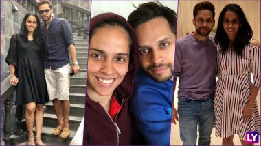 Saina Nehwal & Parupalli Kashyap Pictures Together! Badminton Players Set to Marry in December, Wedding Date Leaked As per Reports