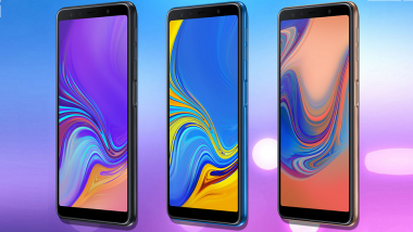 Live News Updates: Samsung Galaxy A7 2018 With Triple Lens Launched in India at Rs 23,990; Prices, Images, Features, Variants & Specifications