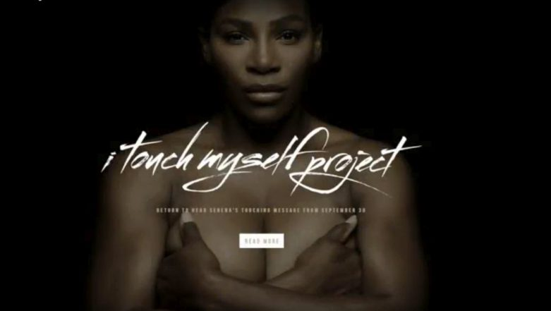 Serena Williams Goes Naked Singing 'I Touch Myself' In This Breast Cancer Awareness Clip (Watch Video)