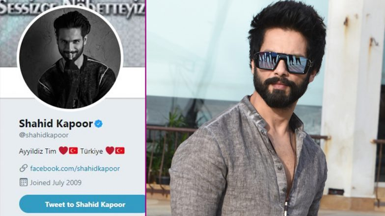 OH NO! Shahid Kapoor's Twitter, Instagram Accounts Get Hacked By Turkish Cyber Army; Is This an Attack on Padmaavat's Depiction of Khilji?