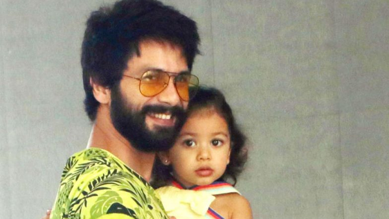 Shahid Kapoor's Daughter Misha Looks Super-Cute in Her Little Traditional Lehenga on Diwali (View Pic Inside)