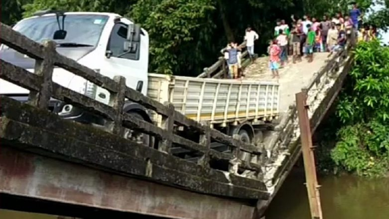 West Bengal: Canal Bridge Collapses in Siliguri's Phansidewa, No Casualties