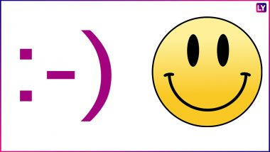 Origin of Smiley: The World's First Ever Emoticon Was Created by Scott E. Fahlman On This Day in 1982