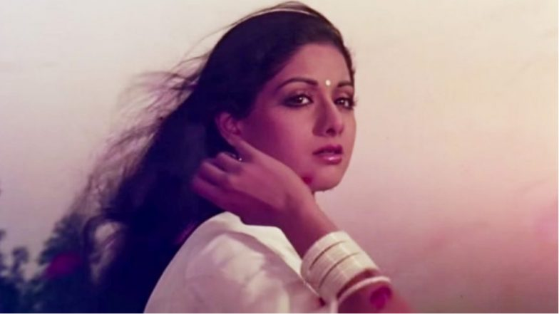 Happy Birth Anniversary To The Legend, Sridevi