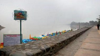 Punjab Rains: Floodgates of Sukhna Lake in Chandigarh Opened After a Decade Water Level Crosses Danger Mark