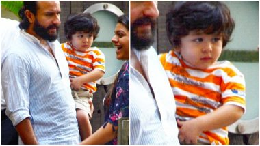 Taimur Ali Khan's Suspicious Stares Are Funny and Adorable! (View Pics)