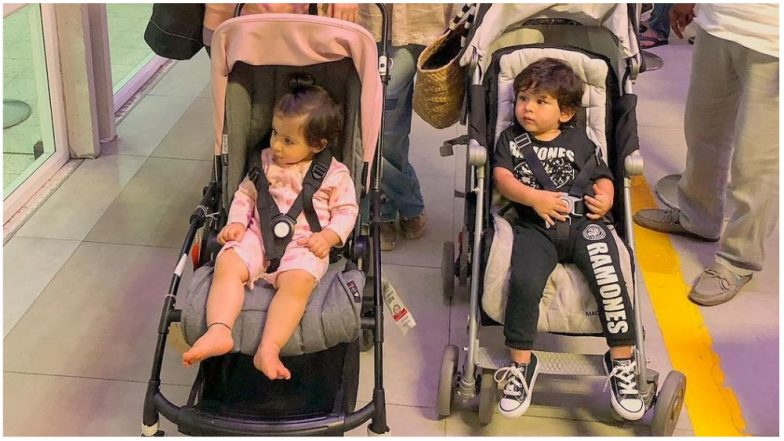 Taimur Ali Khan and Inaaya Naumi Kemmu Do Not Want Their Maldives Vacation to End and This Picture Is the Proof!