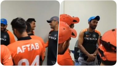 India vs Hong Kong, Asia Cup 2018: Rohit Sharma & Co Visit Hong Kong Dressing Room After Winning the Match (Watch Video)