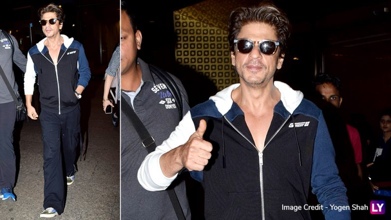 Shah Rukh Khan's Airport Fashion Look Reminds Us Again Who Is The King of Bollywood (View Pics)
