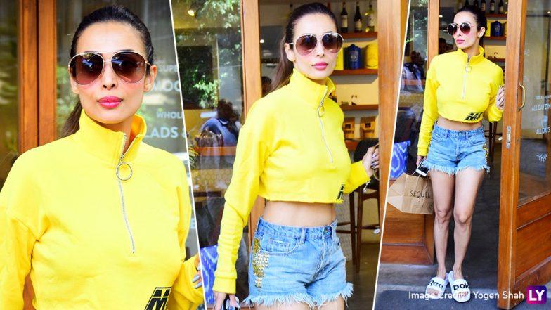 Bombay Got Brighter Thanks to Malaika Arora's This Fashion Outing - View Pics