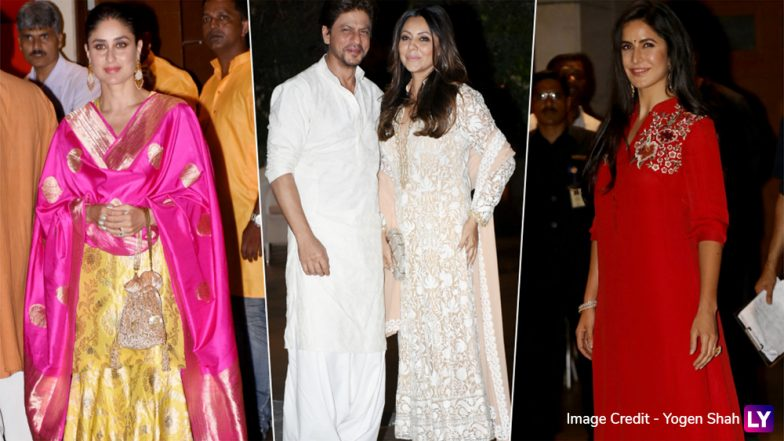 Ganesh Chaturthi 2018 Celebrations at Ambani Residence: From Kareena to Katrina, Best Dressed Celebs at the Occasion (See Pics)