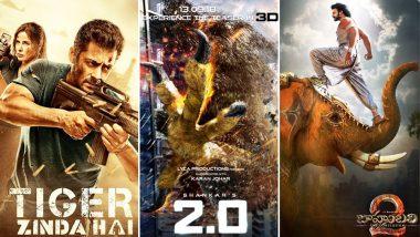 Baahubali, Tiger Zinda Hai: These Were the Most Expensive Movies in India Before Akshay Kumar-Rajinikanth's 2.0