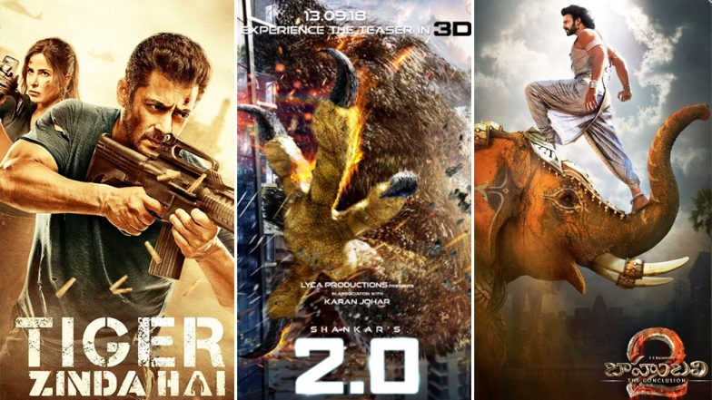 Baahubali, Tiger Zinda Hai: These Were the Most Expensive Movies in India Before Akshay Kumar-Rajinikanth's 2.0