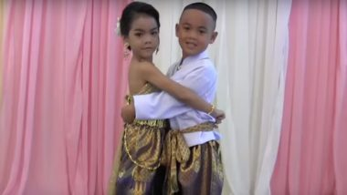 5-Year-Old Thai Twins Marry Each Other in Traditional Ceremony! Watch Video of Bizarre Wedding