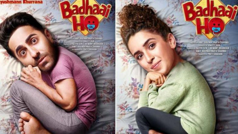 Badhaai Ho First Look: Ayushmann Khurrana and Sanya Malhotra's 'Baby Version' on the New Posters is Too Cute to Miss!