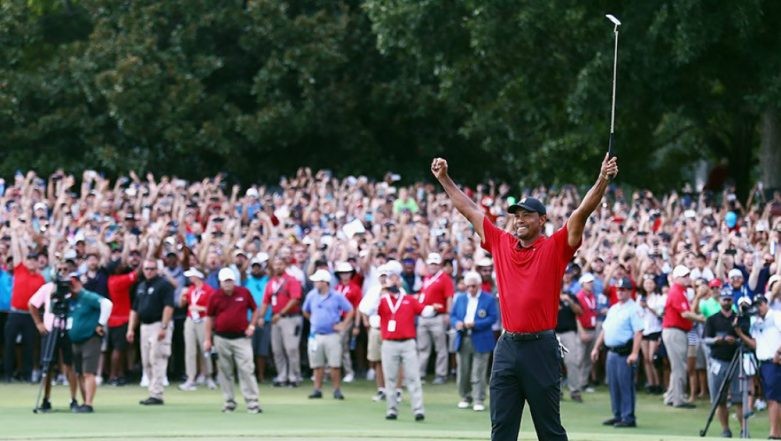 Tiger Woods Wins the 2019 Masters Tournament, His 1st Major Golf Championship Since 2008